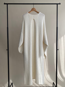 【再入荷】mohair long knit cardigan