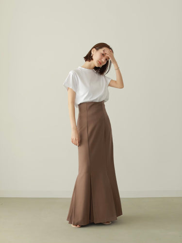 【受注販売】mermaid pleats skirt