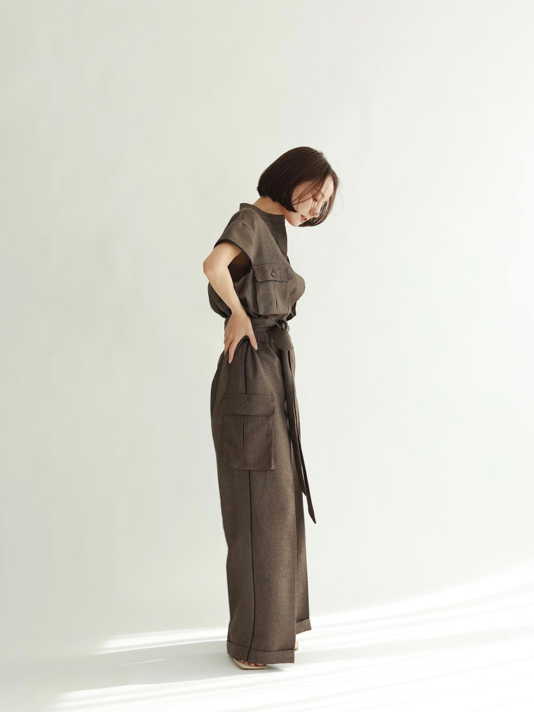 summer tweed jumpsuits