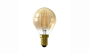 Goud serie: LED Filament Kogellamp 3,5W kleine fitting