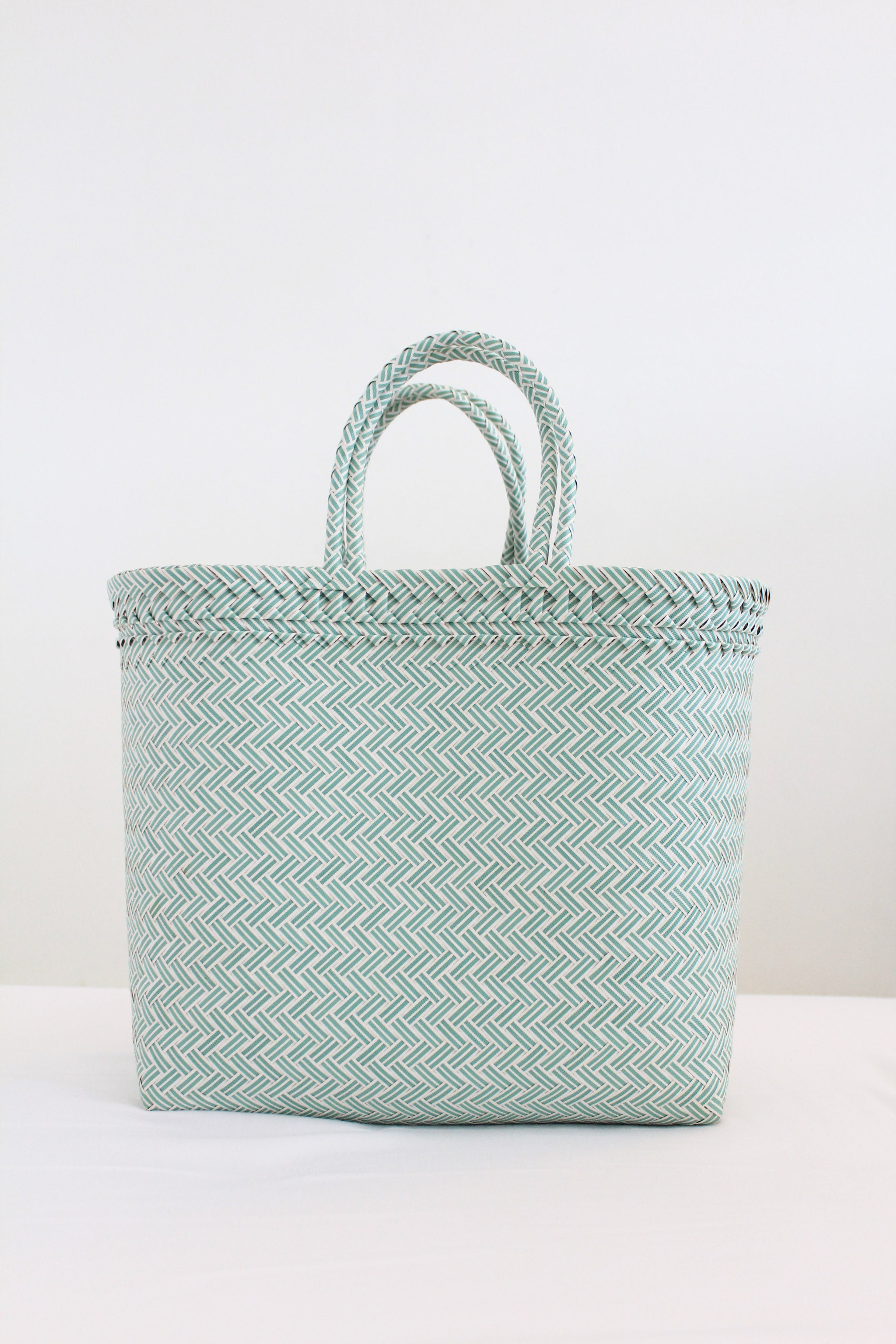 Saffron Bag in Light Teal