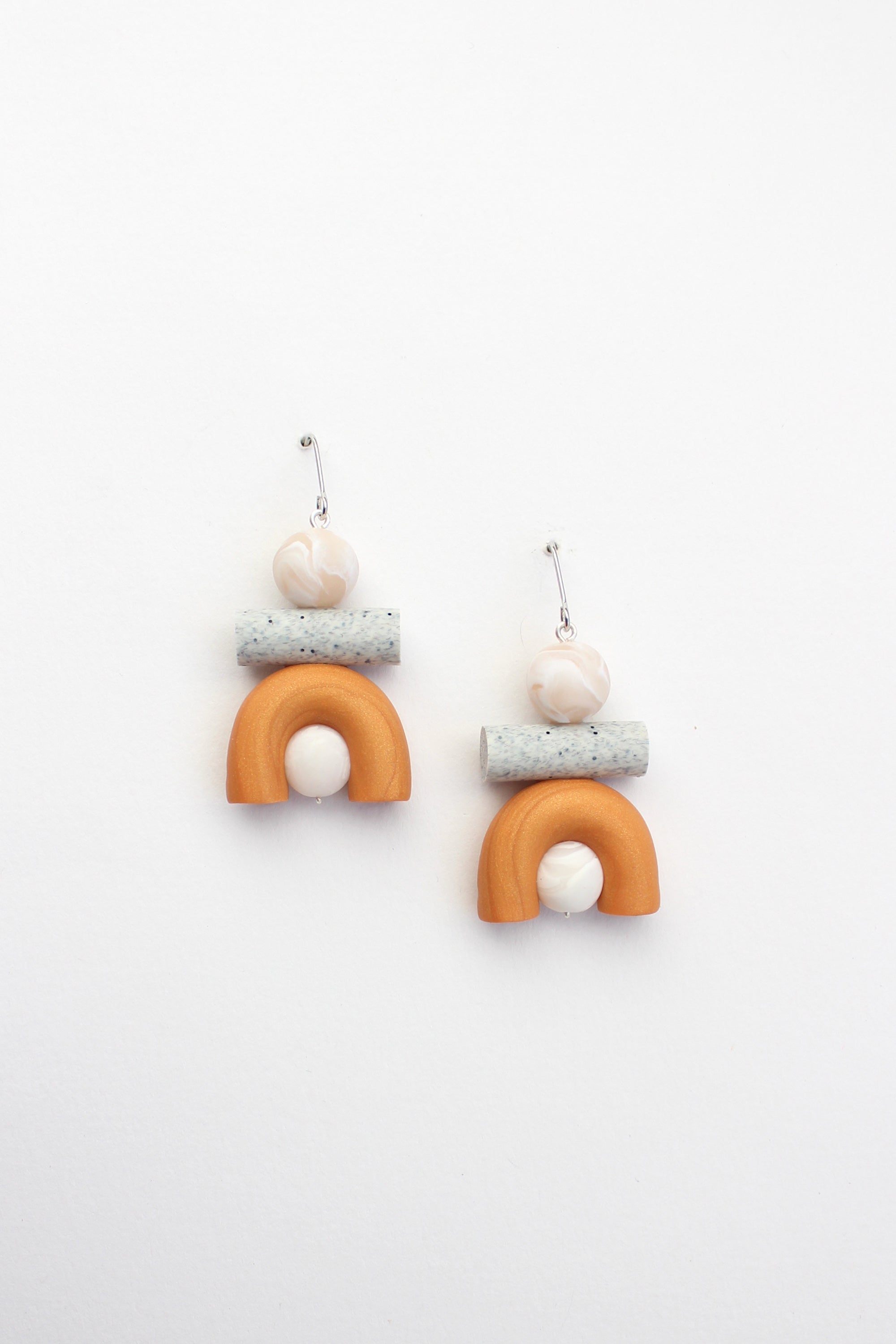 Mini Ook Earrings in Orange