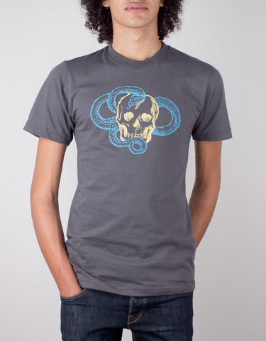House MD -Skull Snake T-shirt