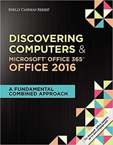 Shelly Cashman Series Discovering Computers & Microsoft Office 365 PDF (ebook)
