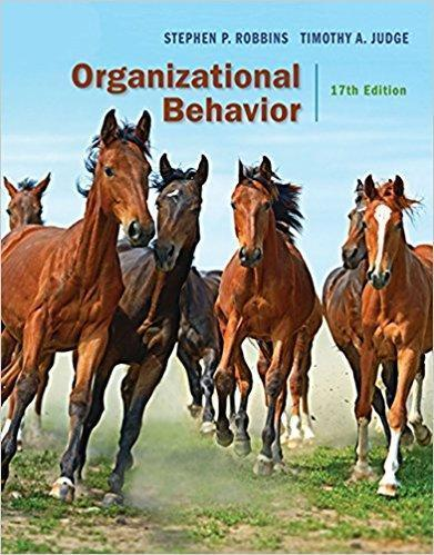Organizational Behavior 17th Edition PDF (ebook)