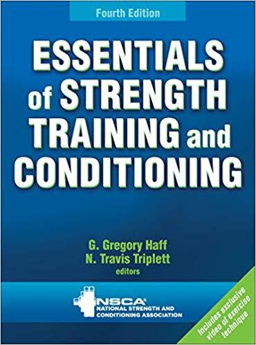 Essentials of Strength Training and Conditioning 4th Edition PDF (ebook)