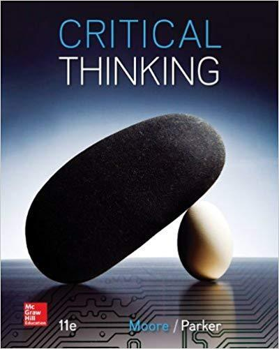 Critical Thinking 11th Edition PDF (ebook)