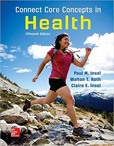Connect Core Concepts in Health 15th Edition PDF (ebook)