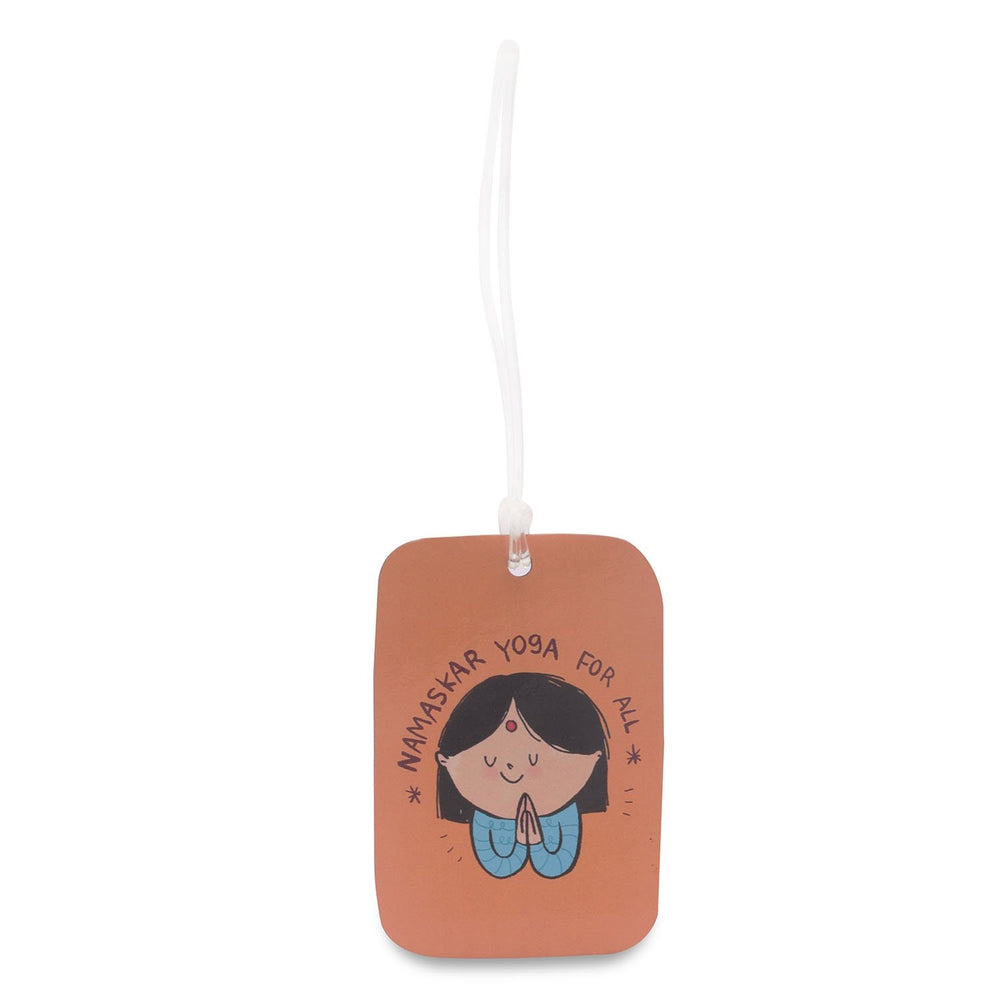 Luggage Tag - Namaskar