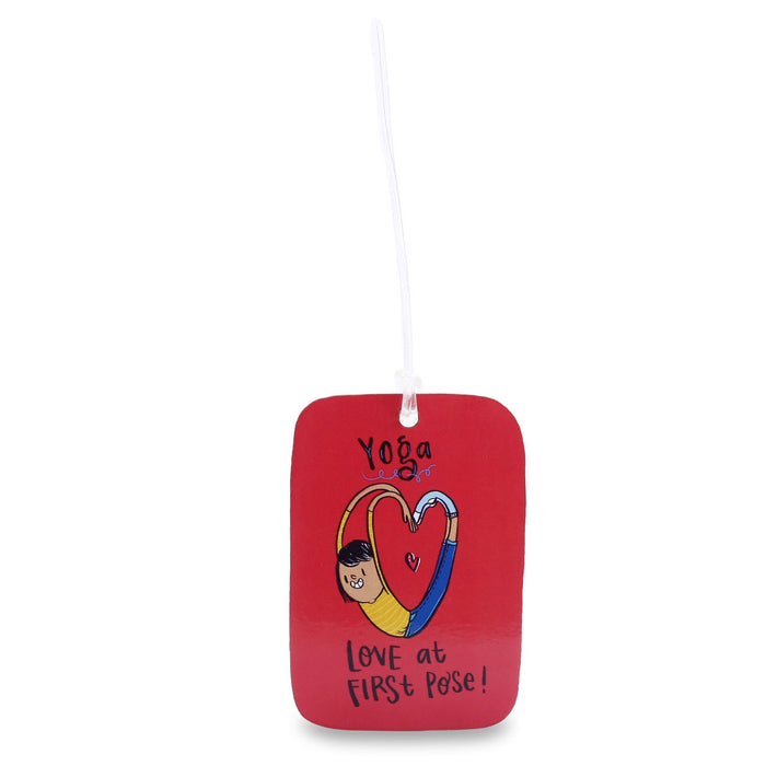 Luggage Tag - Yoga