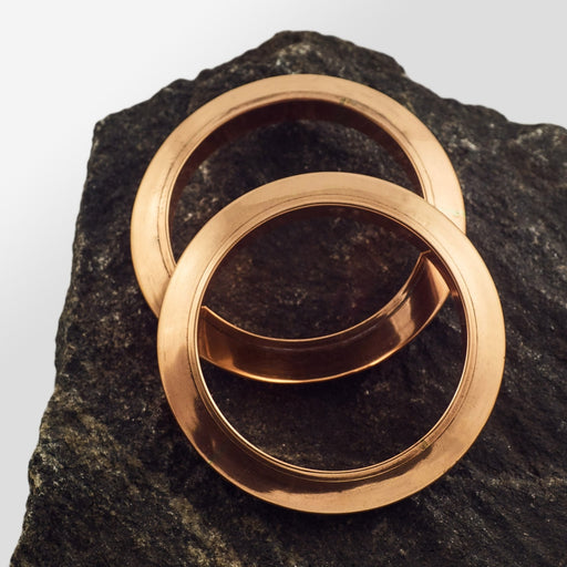 Copper Bangle - Style 4