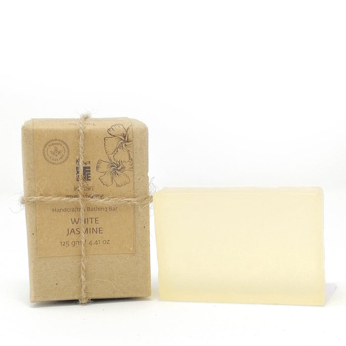 Hand Made Transparent Soap White Jasmine (Paraben & Sls free), 125 gm