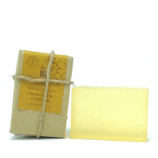 Hand Made Transparent Soap Firangipani Forever (Paraben & Sls free), 125 gm