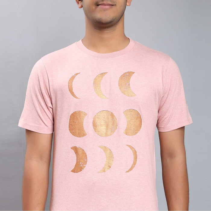 Melange T Shirt Moon Rose with Copper
