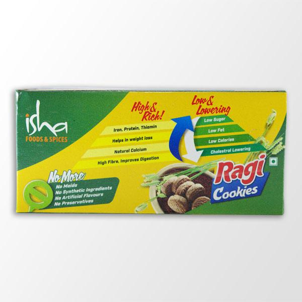 Ragi Cookies (Finger Millet Cookies), 100 gm