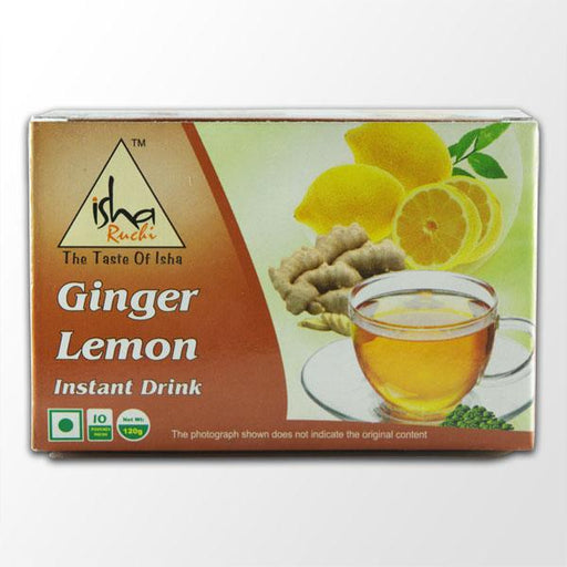 Ginger Lemon Instant Drink, 10 Pouches