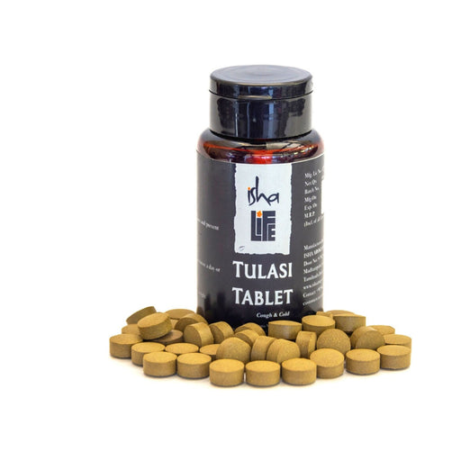 Tulsi Tablet, 60 pcs - Respiratory support