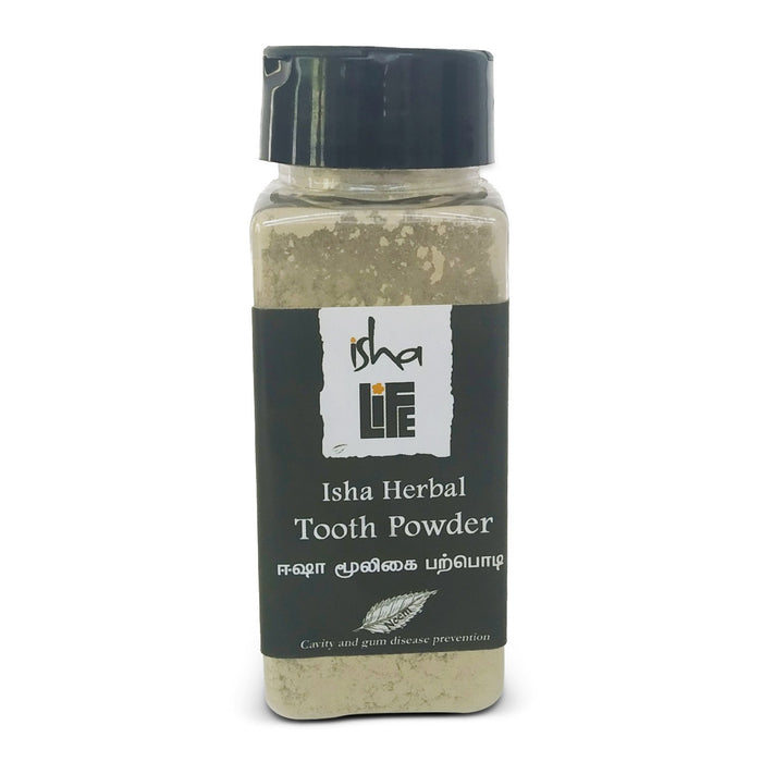 Isha Herbal Tooth Powder, 60 gm