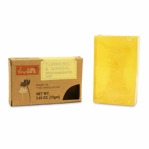 Turmeric & Sandal Handmade Transparent Soap, 75 gm