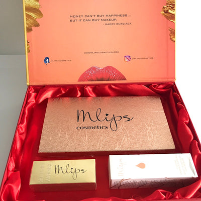 coffret maquillage visage