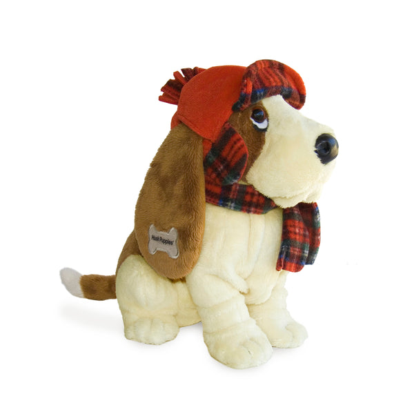 PELUCHE HAT & SCARF HUSH PUPPIES BASSET
