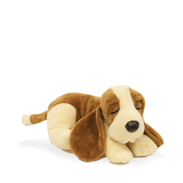 PELUCHE SLEEPING HUSH PUPPIES BASSET