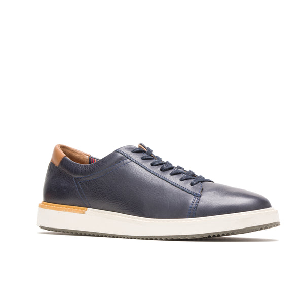 Heath Sneaker Navy Leather
