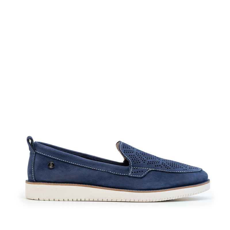 Loafer Navy Perfurado