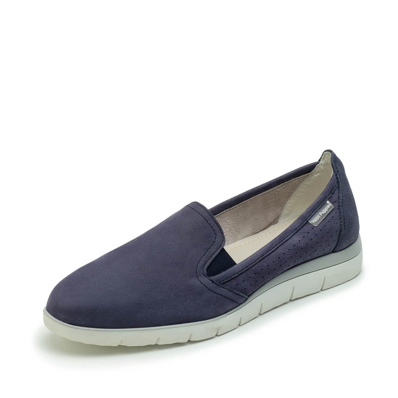 Slipon Nubuck Navy