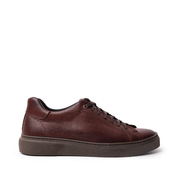 Alfi Laceup Brown Leather