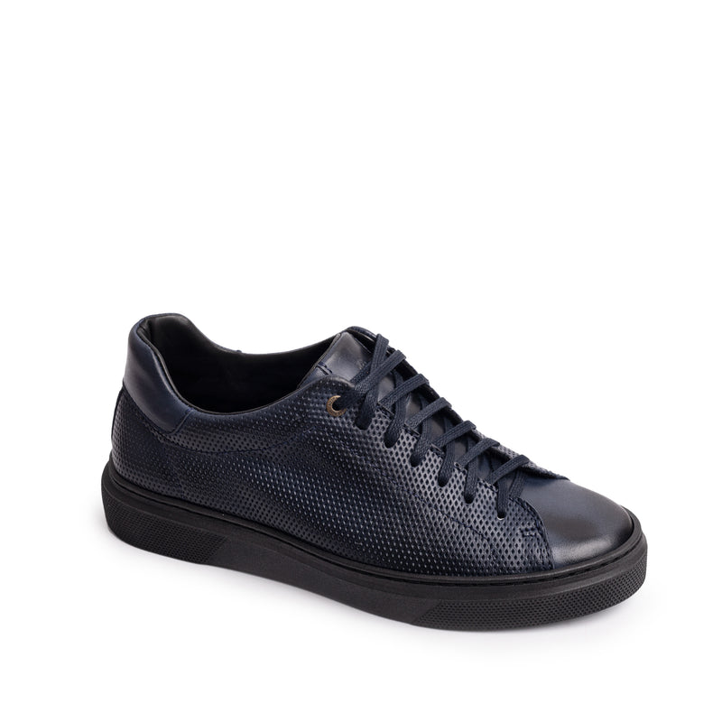 Alfi Laceup Navy Leather