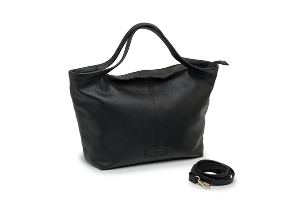 "BOLSO DE MANO ""CITY BAG"" NEGRO"