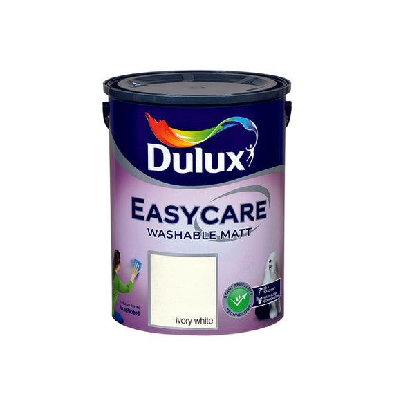 Dulux Easycare Ivory White 5L