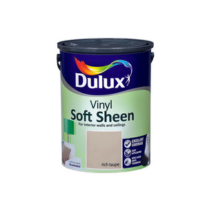 Dulux Vinyl Soft Sheen Rich Taupe  5L