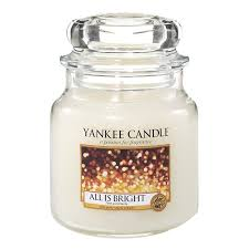 Yankee Candle Medium Jar All Is Bright