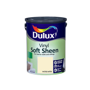 Dulux Vinyl Soft Sheen Orchid White  5L