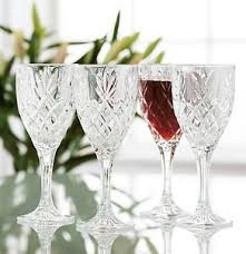 Galway Irish Crystal Renmore Goblet Set