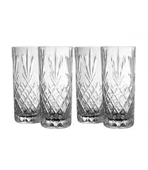Galway Irish Crystal Renmore Hi Ball Glasses