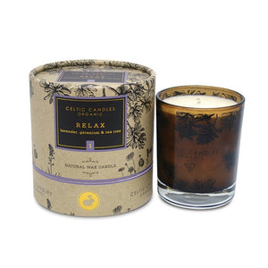 Celtic Candles Organic Tumbler Relax