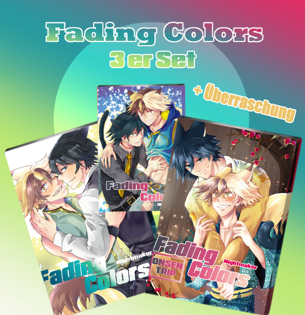 Fading Colors 3er Set (Limitiert) - Nightmaker
