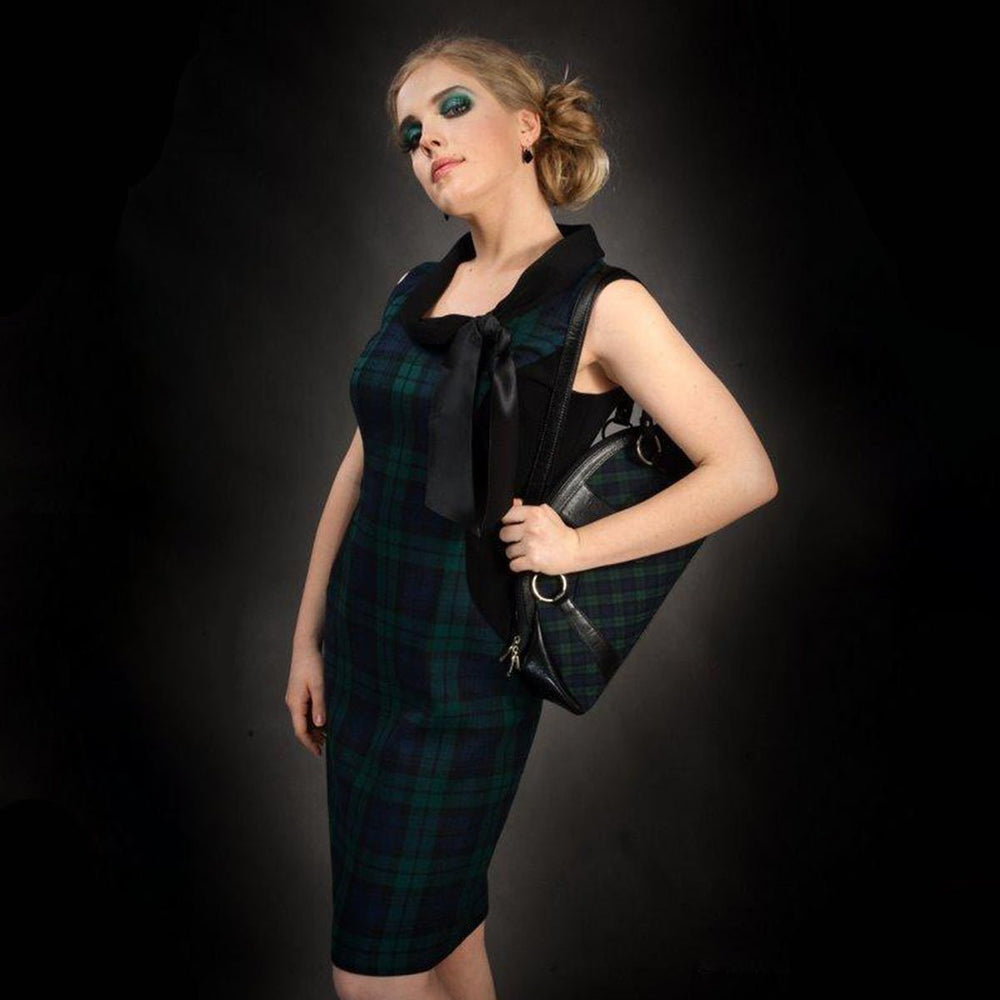 Azalea Short Tartan Dress