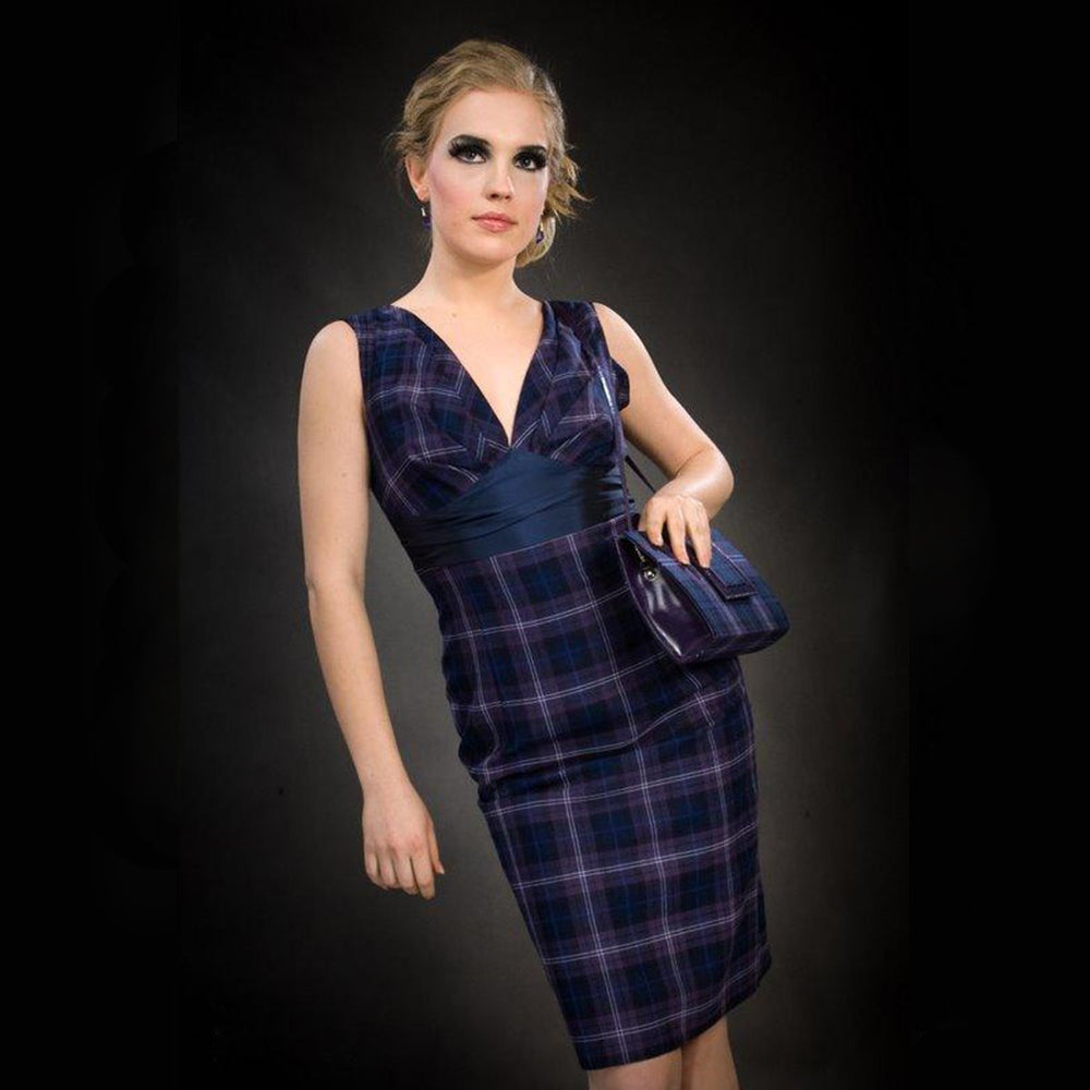 Mairead Classic Short Tartan Dress