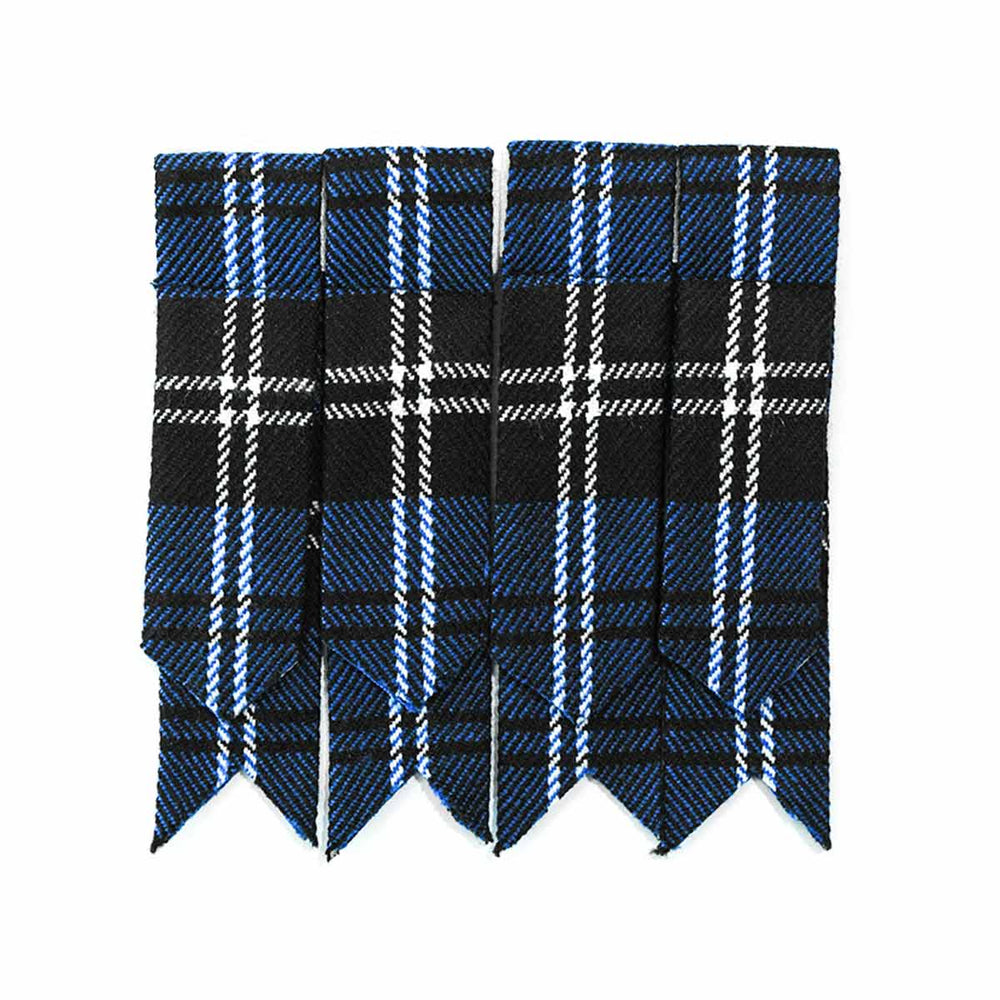 Acrylic Wool Tartan Flashes