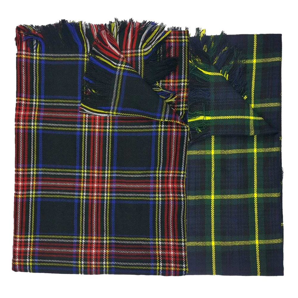 Acrylic Wool Tartan Fly Plaid Heavy Weight