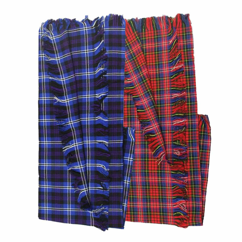 Acrylic Wool Tartan Fly Plaid Light Weight
