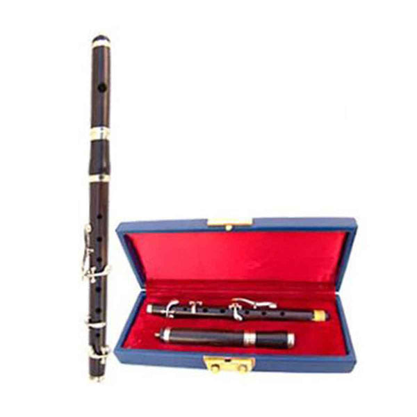 Bb Ebony Wood Marching Flute High Pitch With Tuning Slide Head - House Of Scotland