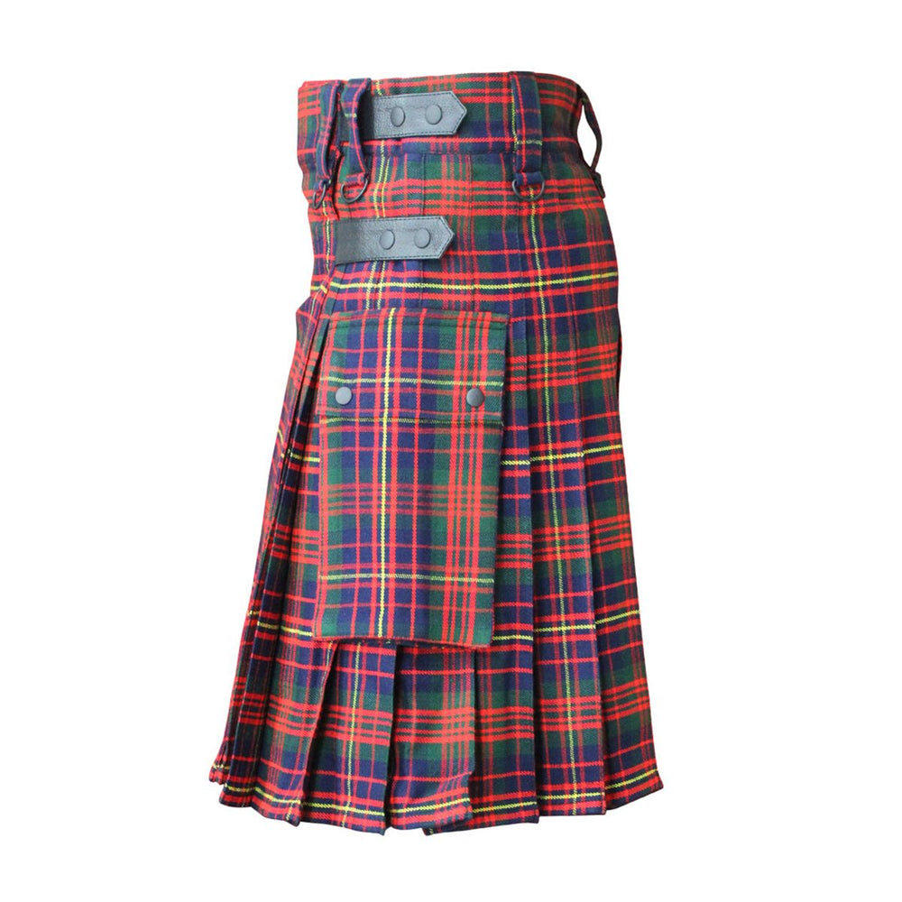 house-of-scotland-cameron-of-erracht-modern-tartan-contemporary-kilt-leather-straps-back