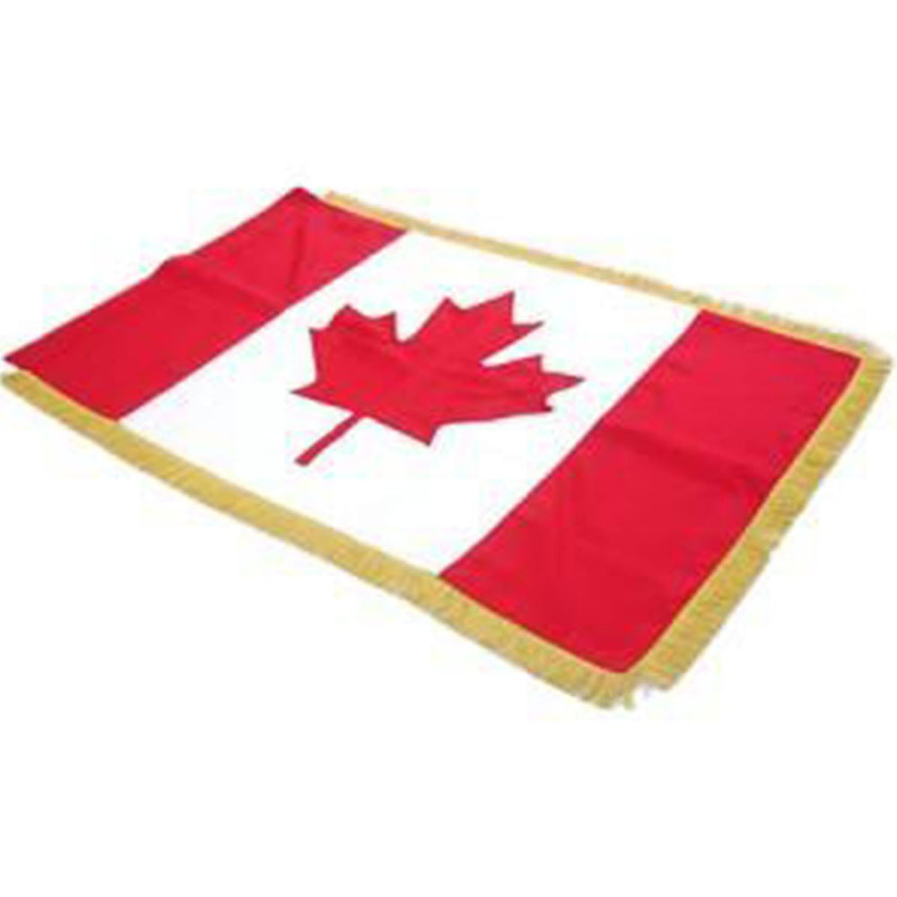 Canada Full Size Double Sided Hand Embroidered Flag