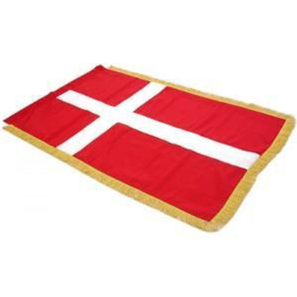 Denmark Full Size Double Sided Hand Embroidered Flag