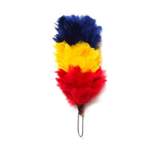house-of-scotland-feather-hackle-navy-blue-yellow-red-color-4-inches